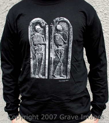 Side by Side Skeleton Longsleeve