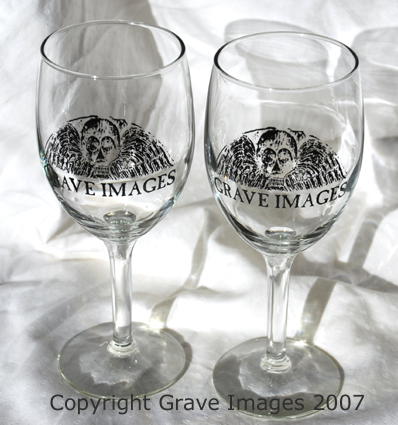 Grave Images Wine Glass